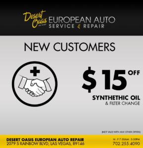 New Customer Oil Check
