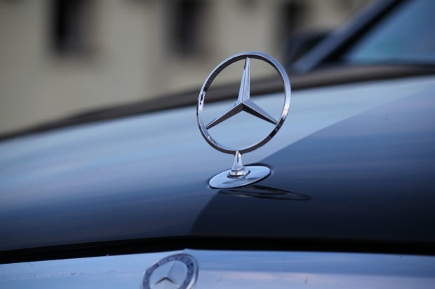 The sleek and sophisticated Mercedes