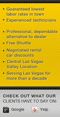 Desert Oasis European Auto Service and Repair Benefits