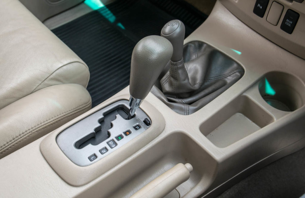 Automatic transmission gear shift