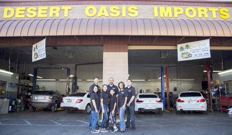 Desert Oasis Auto Repair Shop